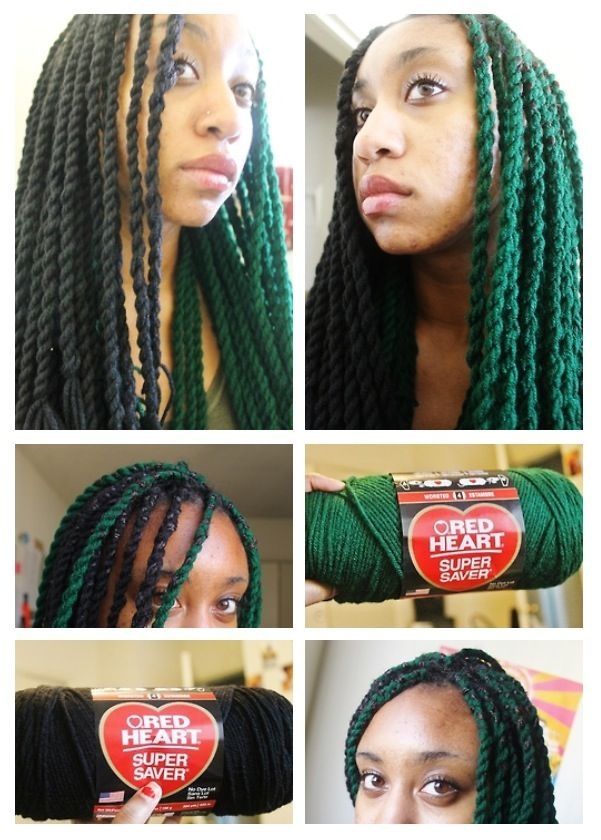 Yarn Twist ρяσтєтινє ѕтуℓєѕ In 2019 Braided Hairstyles Hair