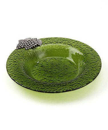 Look at this #zulilyfind! Green Grape Bunch Bowl by Dennis East International #zulilyfinds