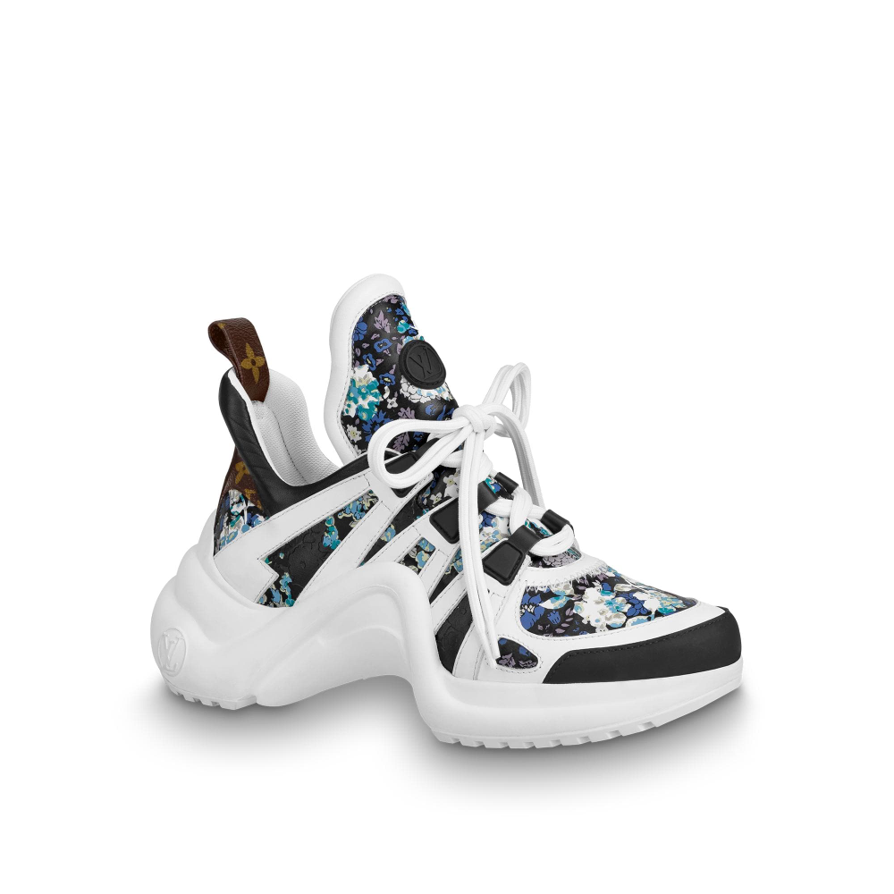 Lv Archlight Sneaker Shoes Louis Vuitton Sepatu Kets Sepatu