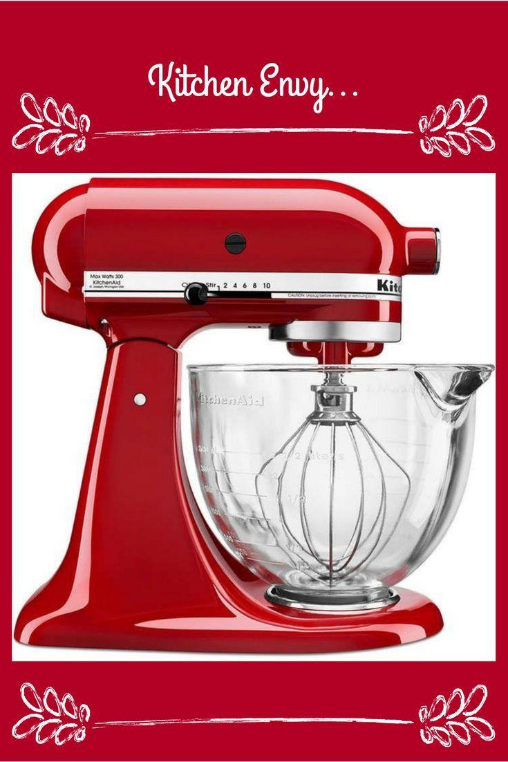 Cherry red kitchen aid mixer affiliate standmixer