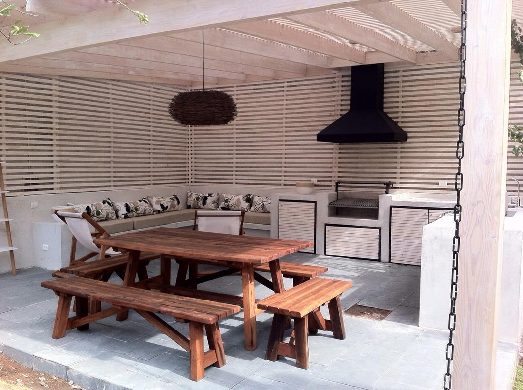 Ampliate Constructora Quincho Terraza Stgochile Quinchos  # Muebles Parri La Fatarella