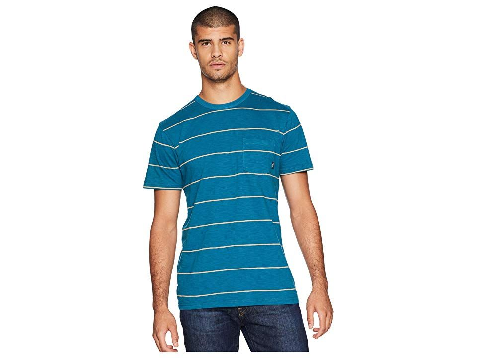 Vans Montgomery Knit Corsair Mens Clothing Head outside in the Vans Montgomery Knit shirt Regular fit offers comfortable range of motion Cotton fabrication features a che...
