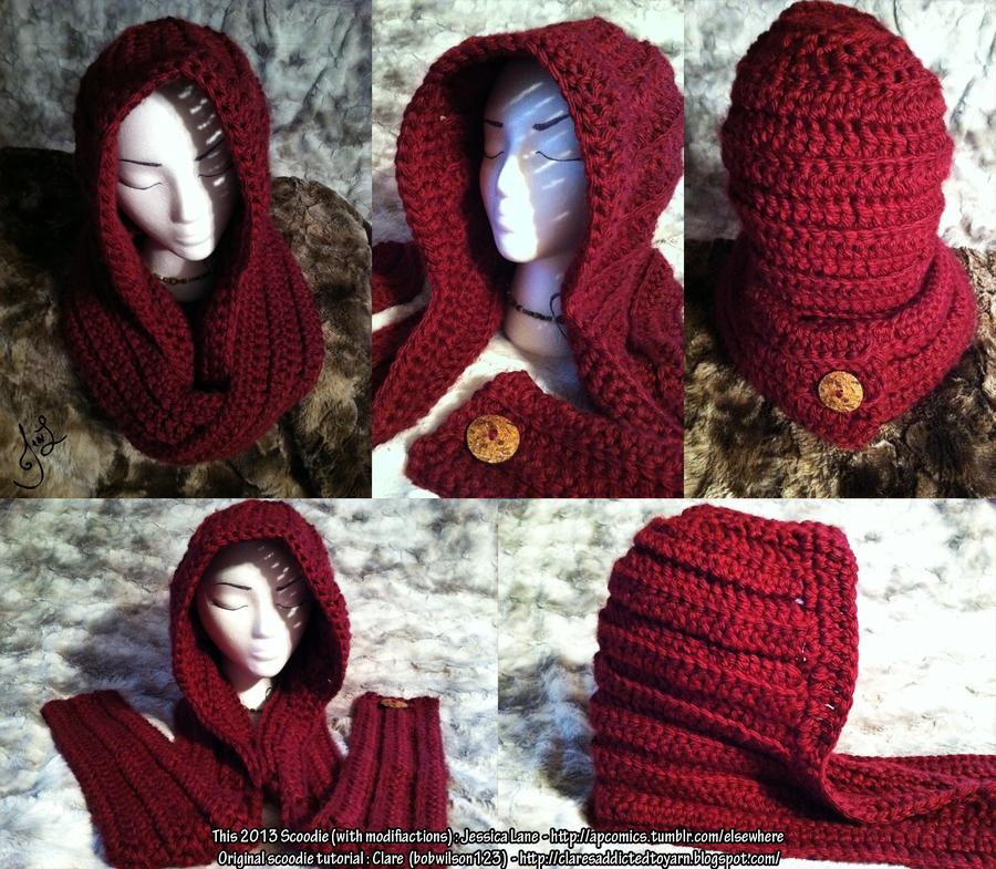 Little Red Riding Scoodie #crochet   Cositas 2   Pinterest ...