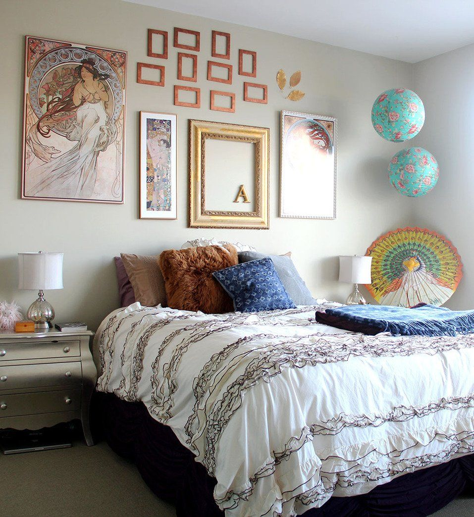 Alex's Unique, Antique San Francisco Apartment Bedroom