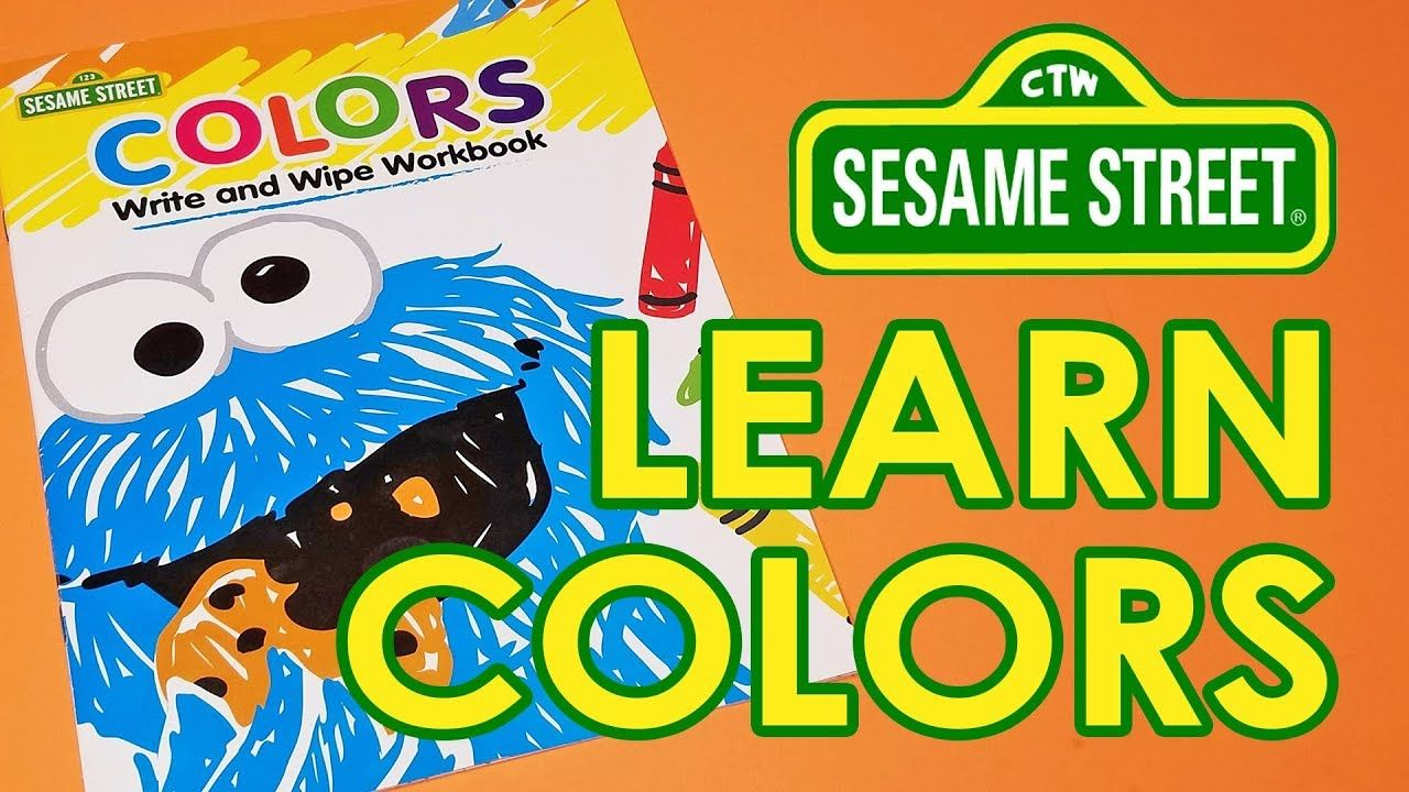 Learn COLORS SESAME STREET Spelling Games Patterns  Watch and learn with Amy with Sesame Street color spelling and games – with pattern learning at the end!
