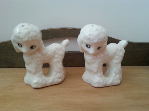 Hey, I found this really awesome Etsy listing at https://www.etsy.com/listing/174236063/vintage-salt-and-pepper-shakers-white