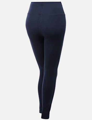 Full Length Fold Over Yoga Pants Navy Size M Made by #Xpril #Color #Awblp0173_navy. Full length fold over yoga legging.. Machine wash cold dark color separately. Do not bleach. Do not iron. Do not tumble dry.. Slim fit. *Please check our size chart.. Great for yoga and any other #sports.. AWBLP0173-NAVY-M