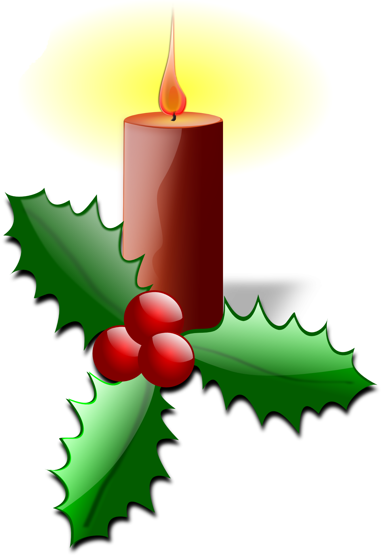 Advent happy. Holly clipart plants christmas