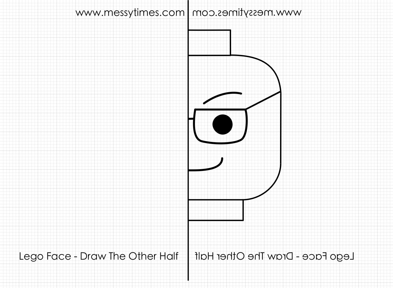 Lego Face Symmetrical