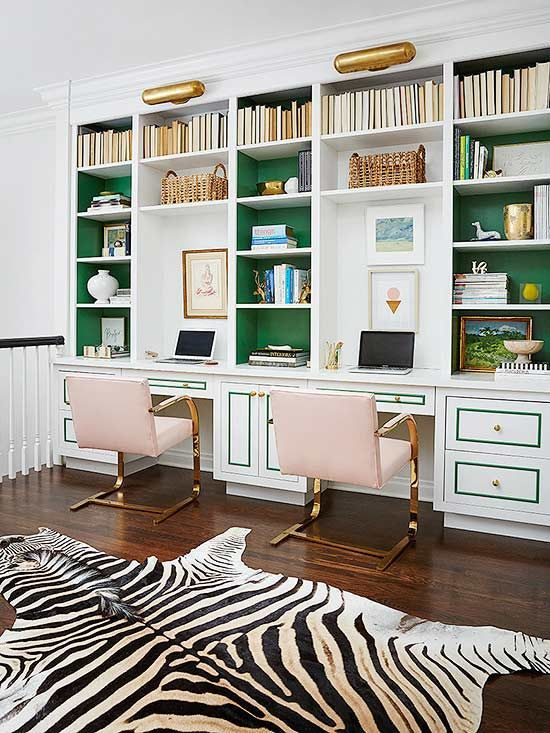 Built In Home Office Furniture Creative Interior 5 dreamy home office makeovers to inspire your best work