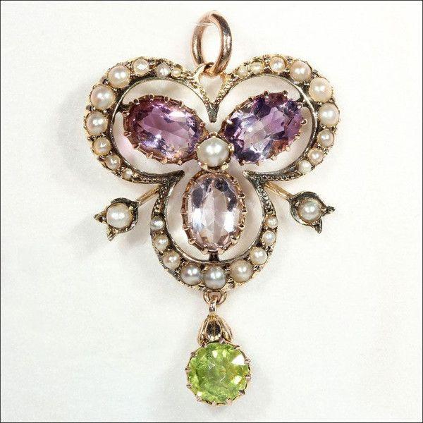 Sufragette Jewelry 1908- 1914