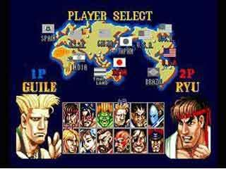 street fighter 2 champion edition character select
