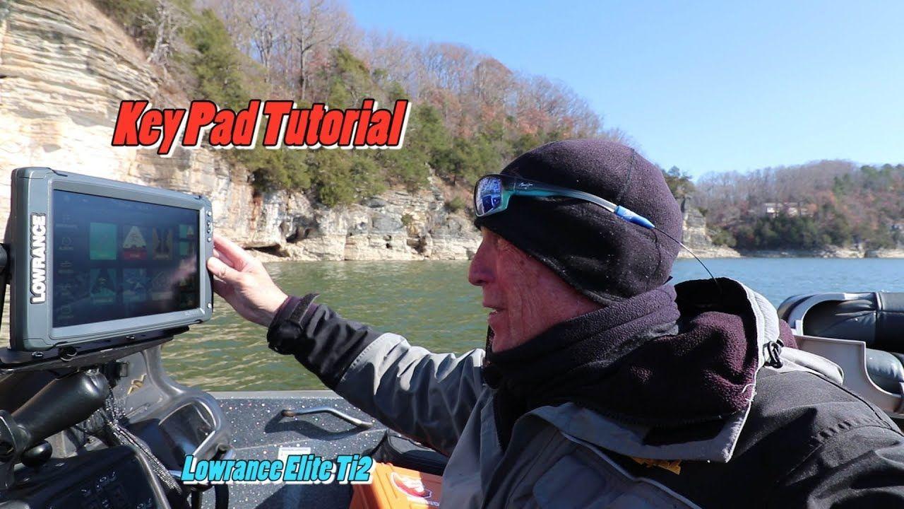 Lowrance Elite Ti2 multifunction key pad tutorial