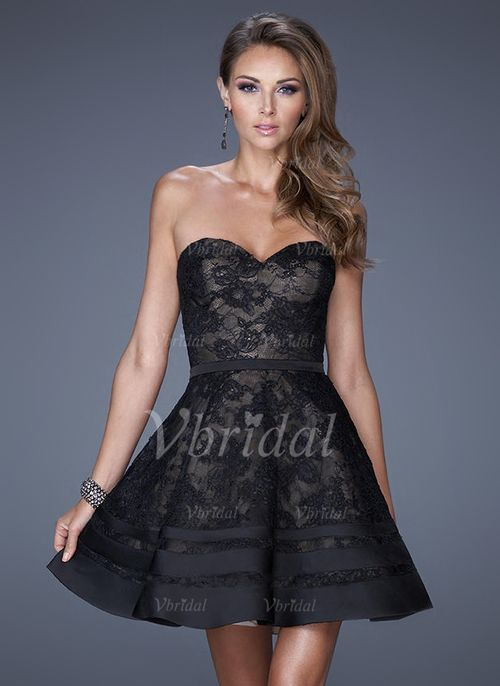 Abendkleider - $132.79 - A-Linie/Princess-Linie Trägerlos ...