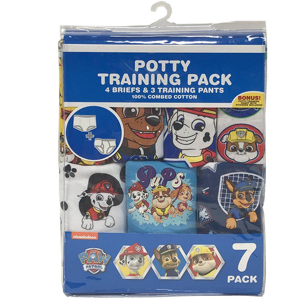 Paw Patrol Toddler Boys 3pk Training Pants /& 4pk Briefs