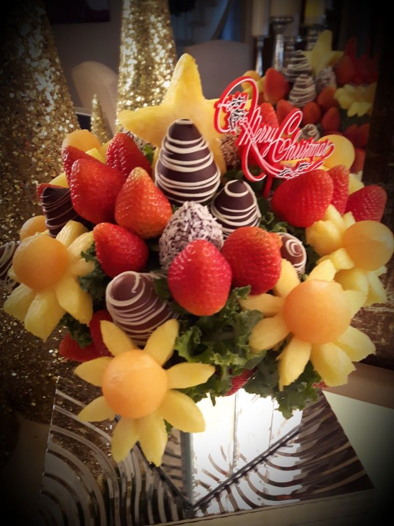 Christmas fruit bouquet   Fruit bouquets❤   Pinterest   Cheese