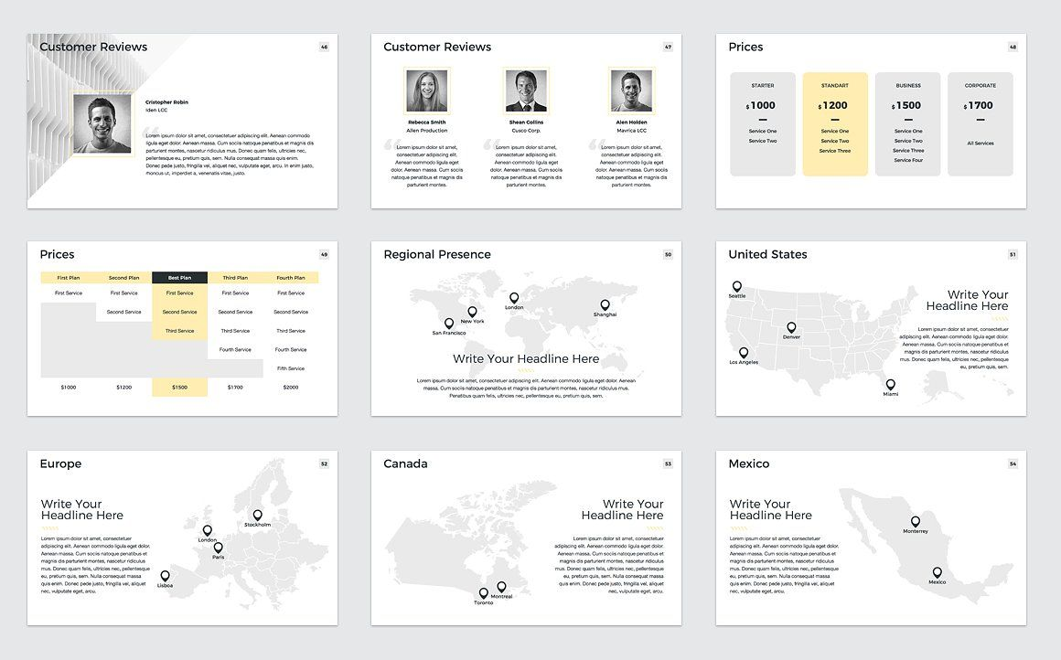 Company Profile Keynote Company profile, Powerpoint