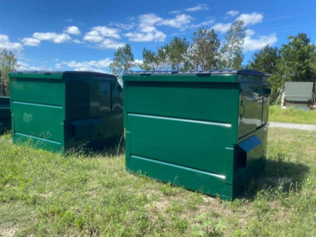 Americanmadedumpster Offers Front Loading Containers In 4 Sizes 2 4 6 And 8 Cubic Yards And 4 Styles In 2020 Jacksonville Beach Flagler Beach Fort Walton Beach