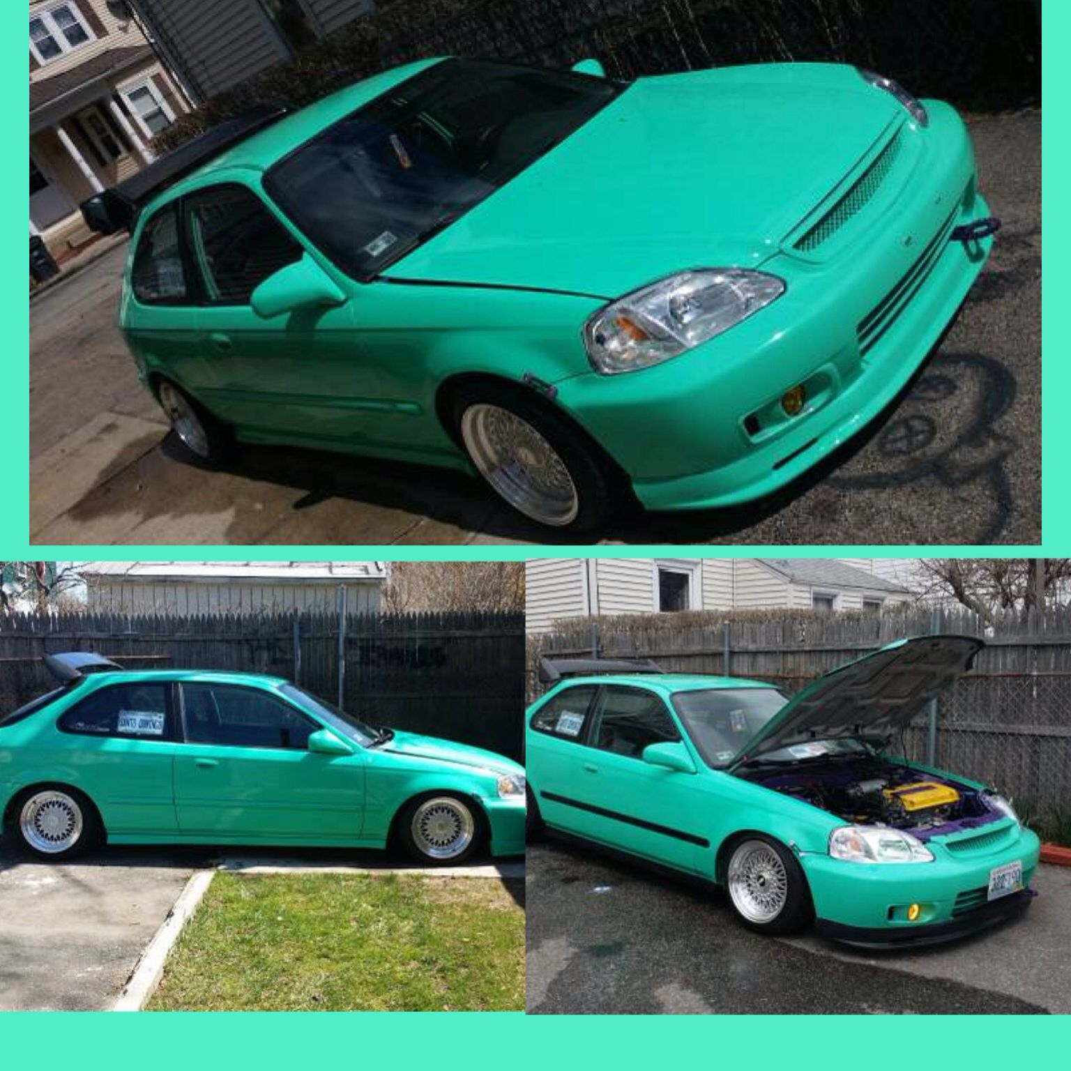 Found this 2000 Honda Civic On craigslist for $5000  Fave color