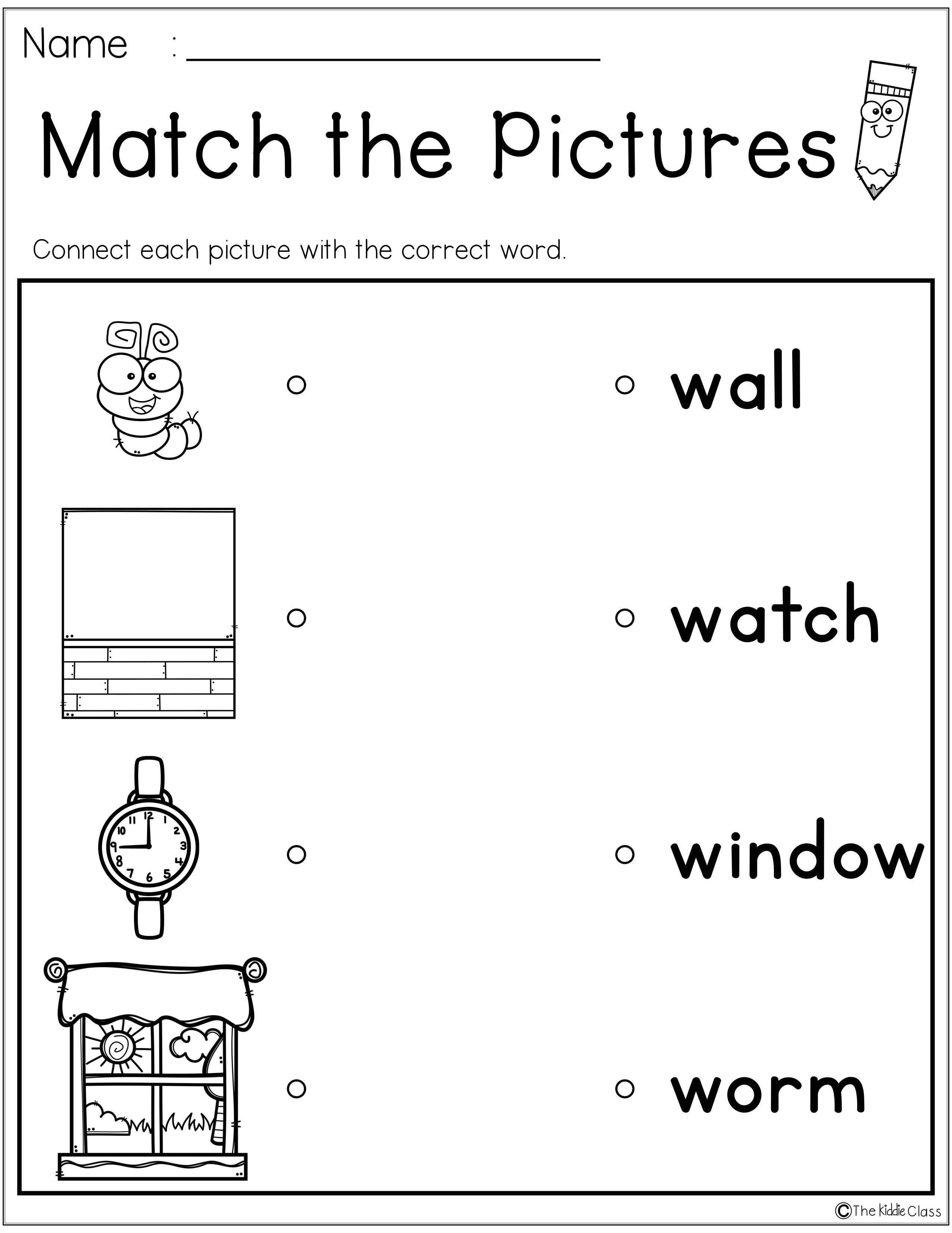 Letter Of The Week W Is Perfect For The Beginning Of The Year In Preschool Or Kindergarten Students Will Letter Of The Week Homeschool Programs Help Teaching