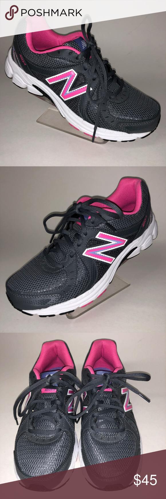 Kuponkikoodi myyntipiste myytävänä erinomainen laatu New Balance 450v3 Women 8.5 Gray Pink Running Shoe New ...