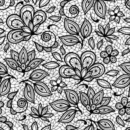 vieux mod le sans couture dentelle fleurs ornementales. Black Bedroom Furniture Sets. Home Design Ideas