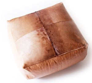 Kamelo - Leather Floor Cushion Hartbeest | Leather gaze, touch ...