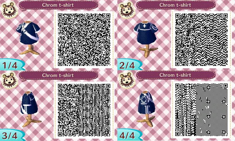 Fire Emblem   Chrom T-shirt   Animal Crossing QR Codes   Animal