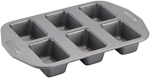Circulon Nonstick Bakeware 6cup Mini Loaf Pan Gray You