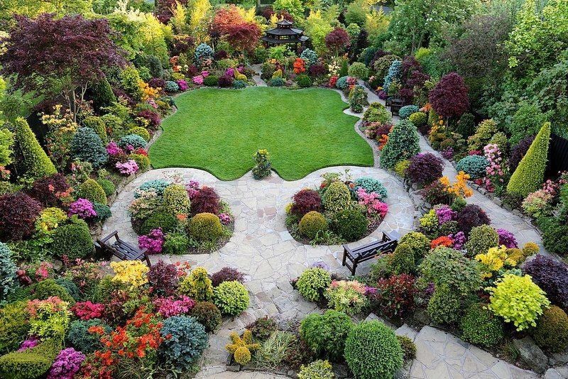 The Four Seasons Garden, England