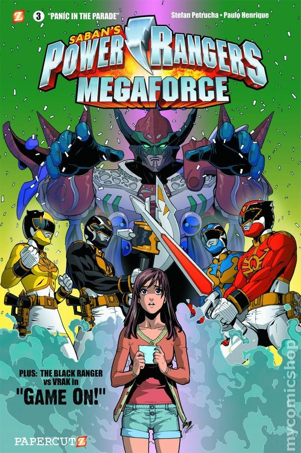 Power Rangers Comic Books