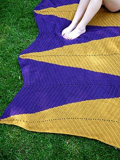 Crochet Arrows Afghan