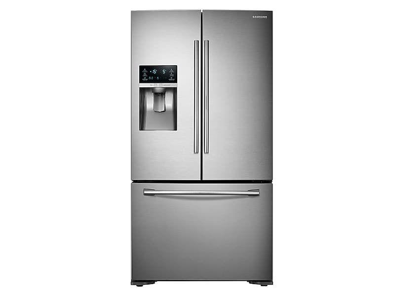 23 cu ft counter depth 3door food showcase refrigerator