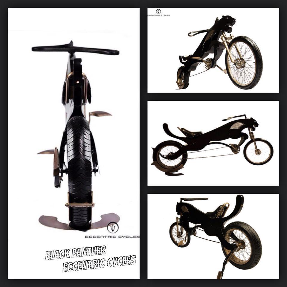 Black panther bicycle