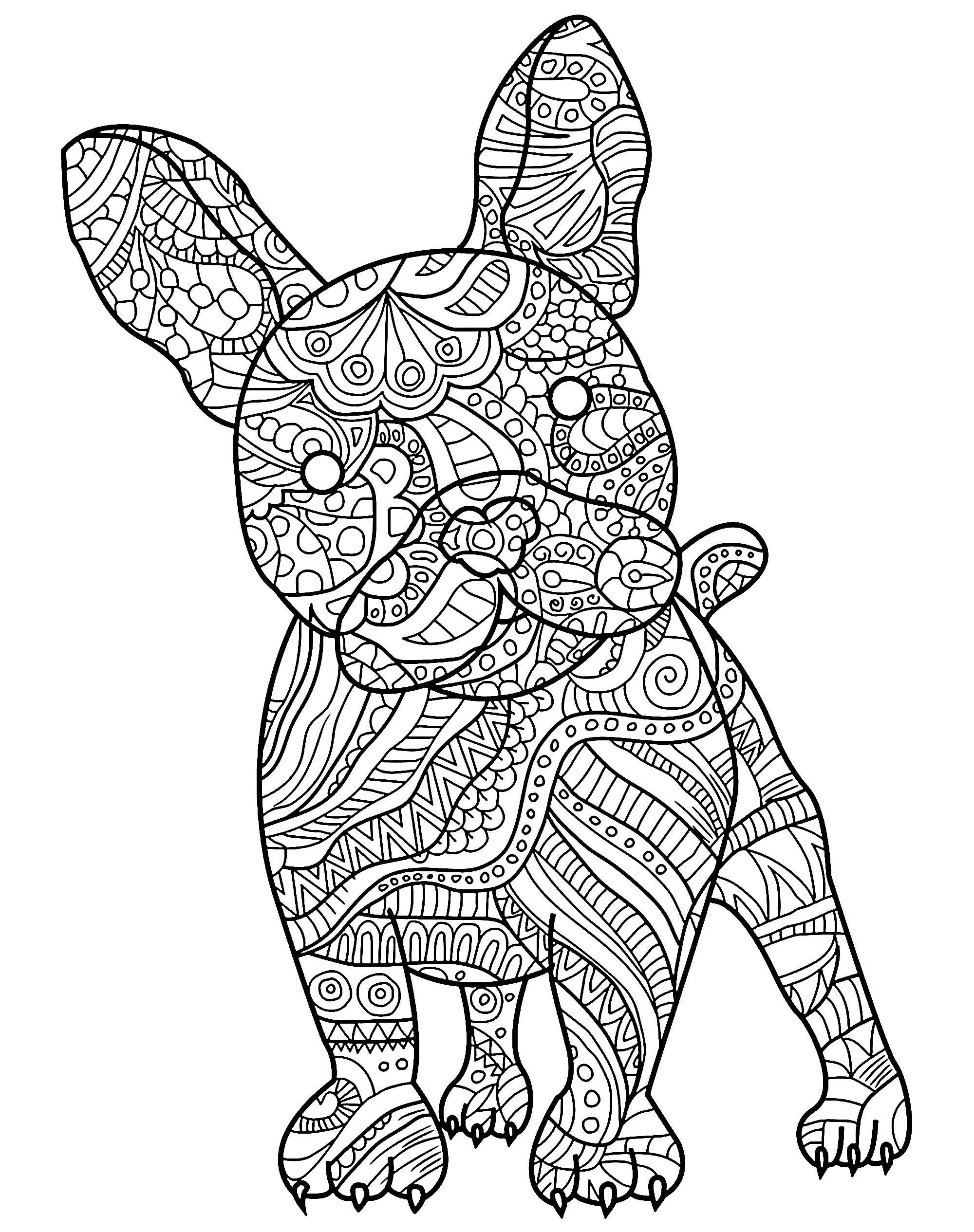 Realistic Dog Coloring Pages Unique Coloring Pages Free ...