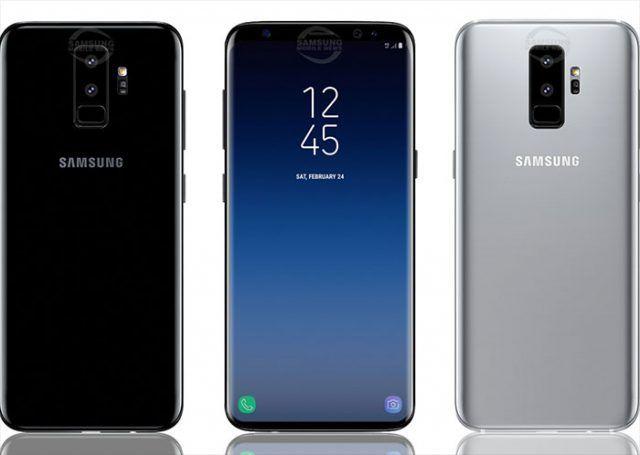 ظهور صور مصممة جديدة لهاتف جالاكسي أس 9 المرتقب Samsung Galaxy Galaxy Samsung Galaxy S9