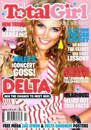 Girl magazine teen