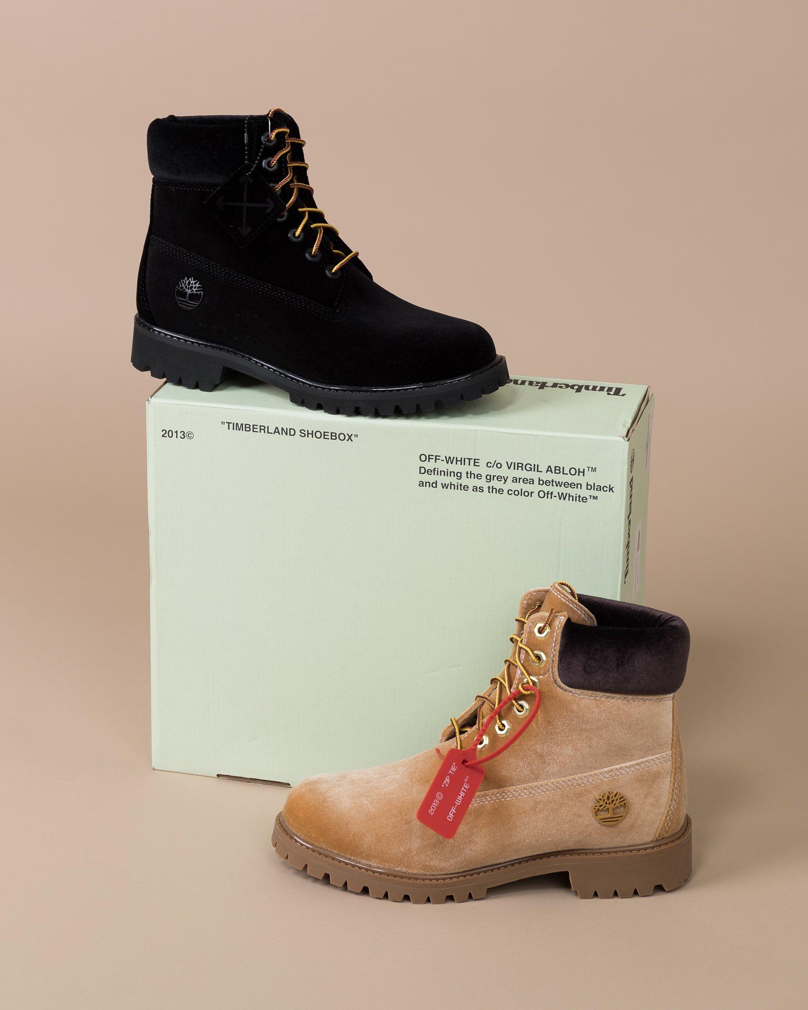 inch boot. Virgil Abloh reimagines