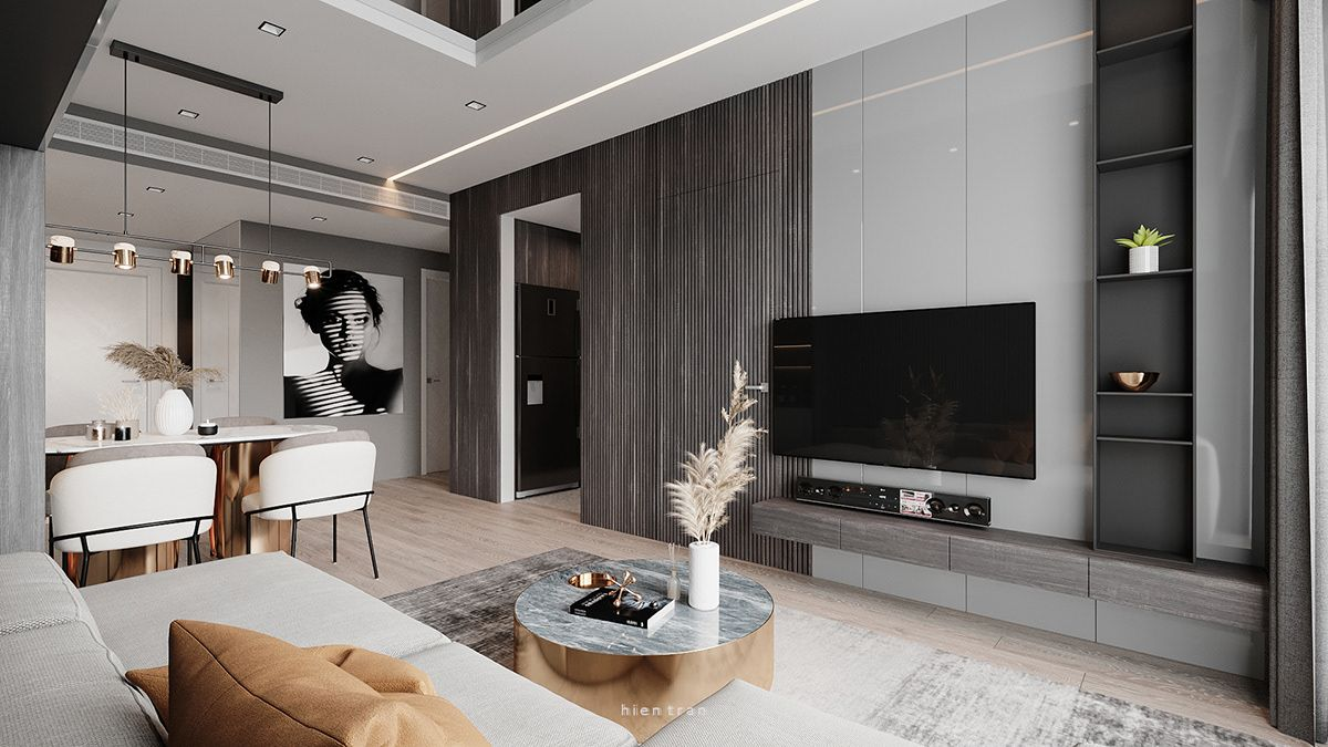Taiwan Interior 05 On Behance Condo Interior Design Interior Design Living Room Modern Small Apartment Interior