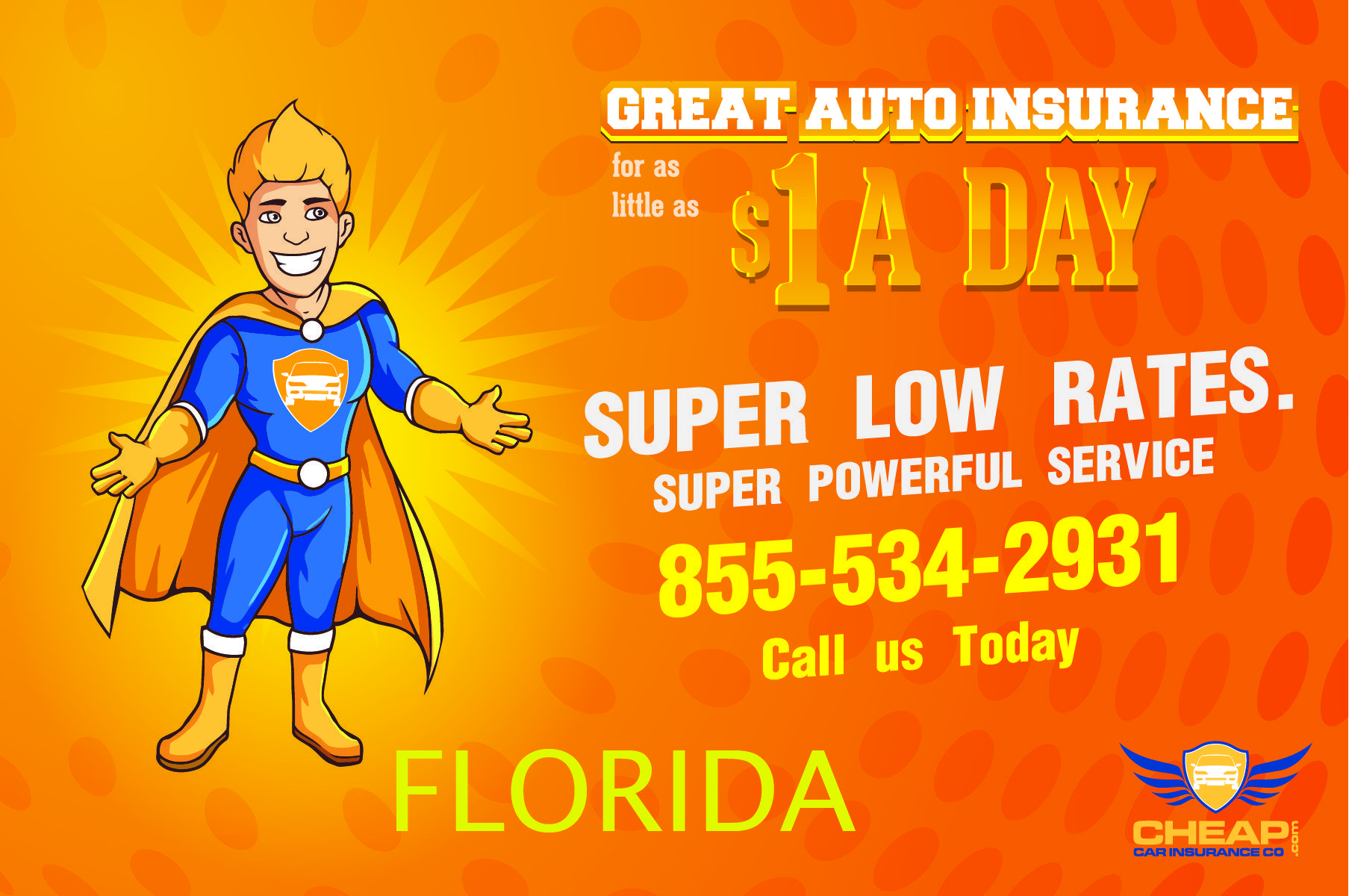 Get cheap car Insurance in Florida . We offer affordable