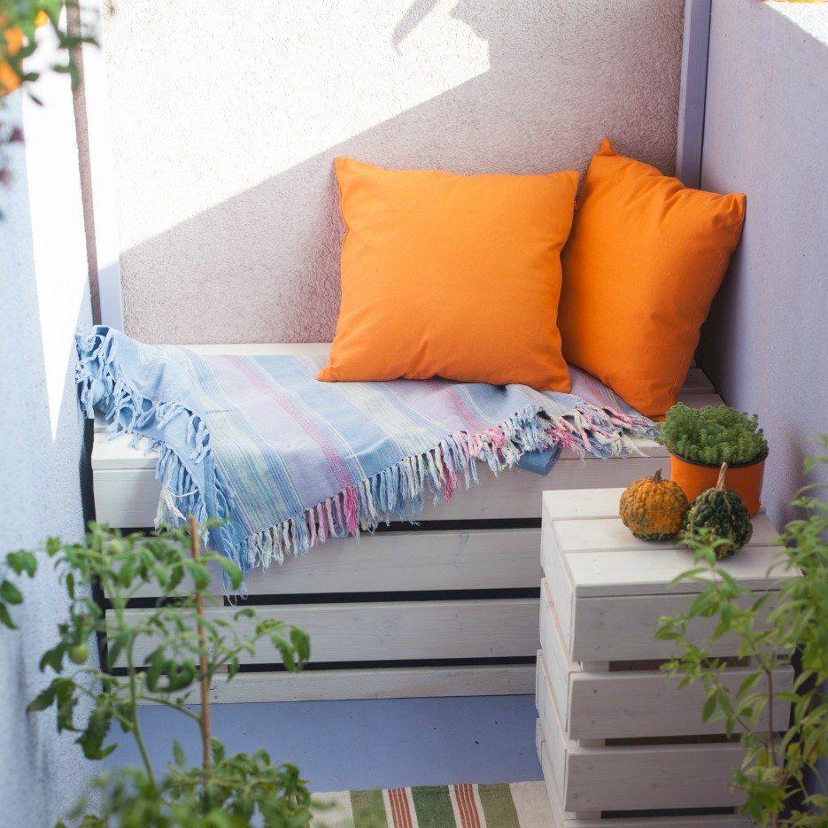 Photo of Small Space Gardening mit einem üppigen grünen Balkongarten