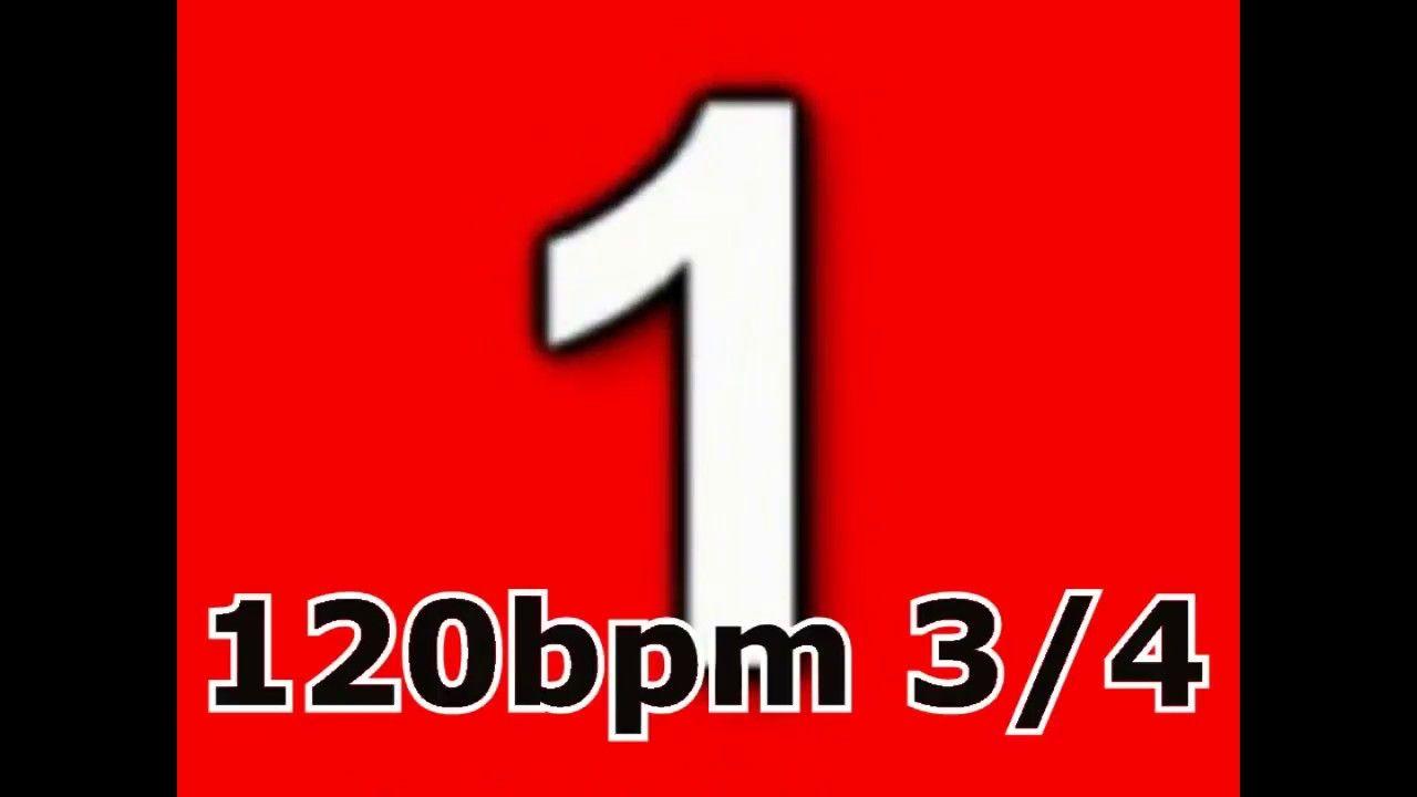 metronome drum click track 120bpm 3/4 | metronome | Drums, Symbols