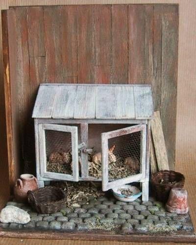 tuto clapier cr che poup e clapiers et miniature. Black Bedroom Furniture Sets. Home Design Ideas