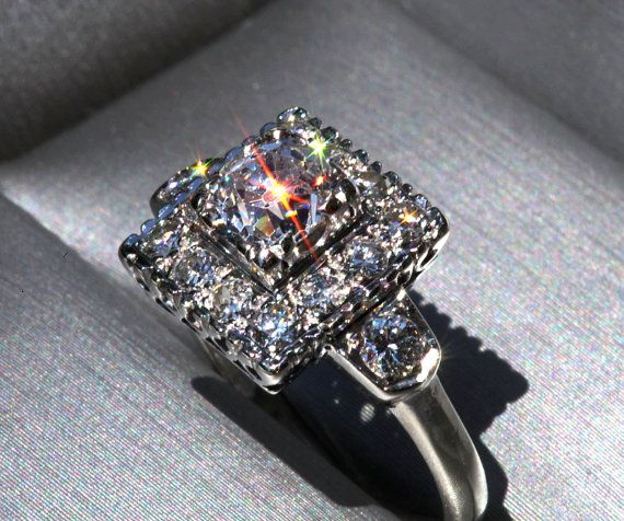 Future Husband, please take note :)    OLD as The HILLS  Antique  Cushion Cut  Old Mine by BeautifulPetra, $5000.00