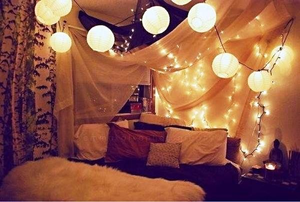 Large Christmas Light Decorations Ideas For Bedroom Indoor For - Indoor christmas lights for bedroom