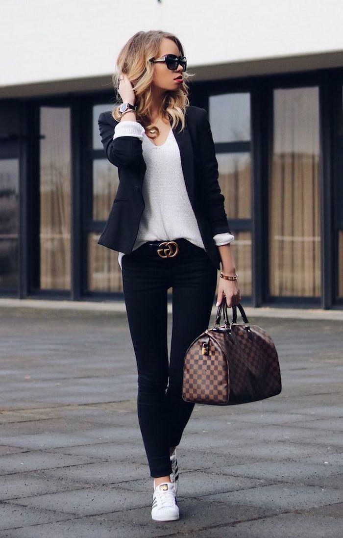 Comment s habiller confort pour prendre l avion basket montant femme basket  femme habillé sac luis vuiton 630c99ee67b