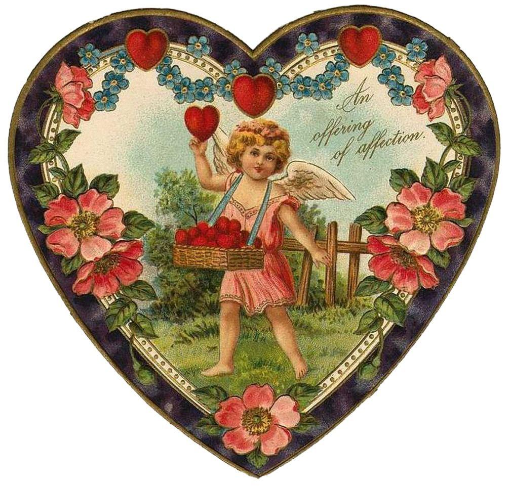 Открытки для печати с днем святого валентина