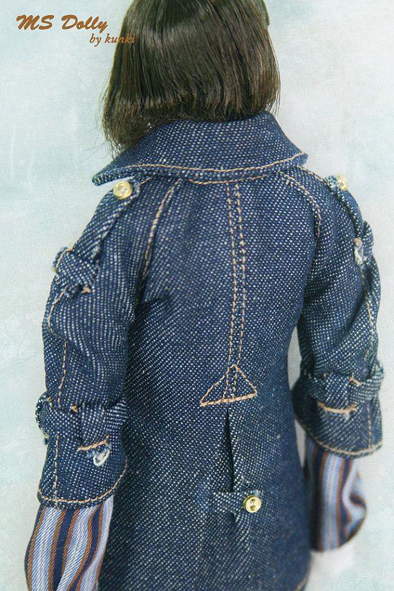 Creazione di RYBG giacca di jean bottoni oro Momoko o di okunkio