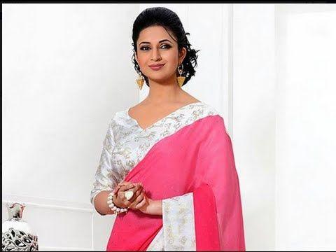 500829d2e10888 Ishitha 'Divyanka Tripathi' Sari - Blouse Collection for Serial - YouTube