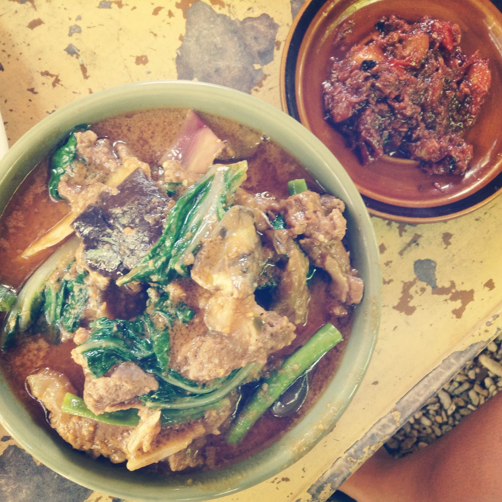 The best kare-kare by the best cook in the whole wide world!…